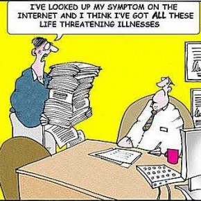 How Patients Learn in the Digital Age Cartoon