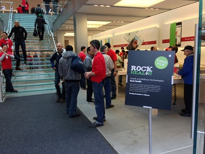 6 Rock Health Startups Showcase Digital Health Products at Apple Store