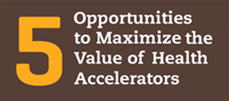5 Opportunities to Maximize the Value of Digital Health Accelerators