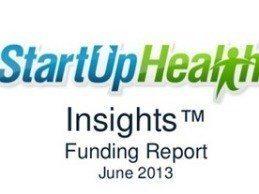 Digital Health Funding Up 47 Percent in June 2013