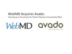WebMD Acquires Health Tech Startup Avado To Accelerate Patient-Physician Connectivity