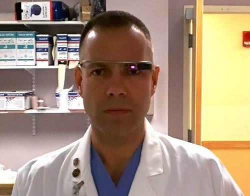 Dr. Rafael Grossmann  Google Glass