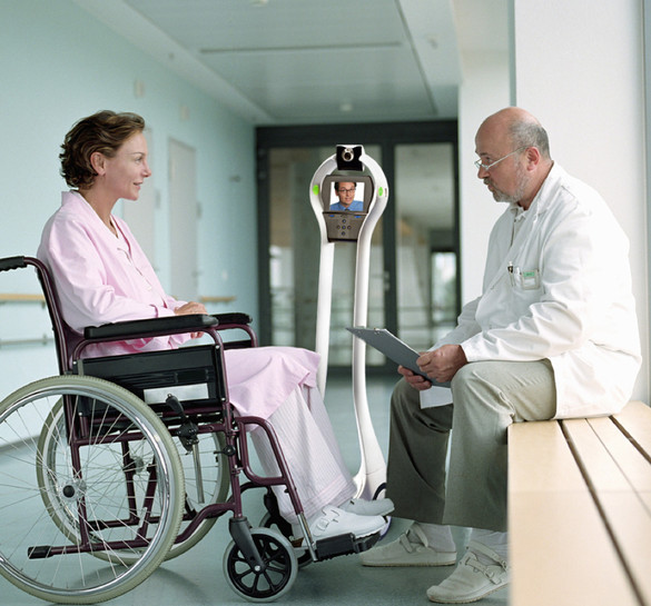 Pediatric Rehab Hospital Uses Telemedicine Robot for Physicians to Interact with Patients
