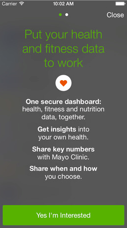 Mayo Clinic Launches App with Apple HealthKit Integration