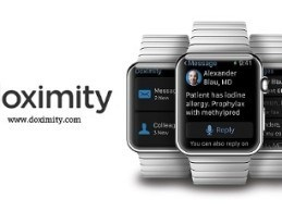 Doximity Launches Apple Watch App for Physicians