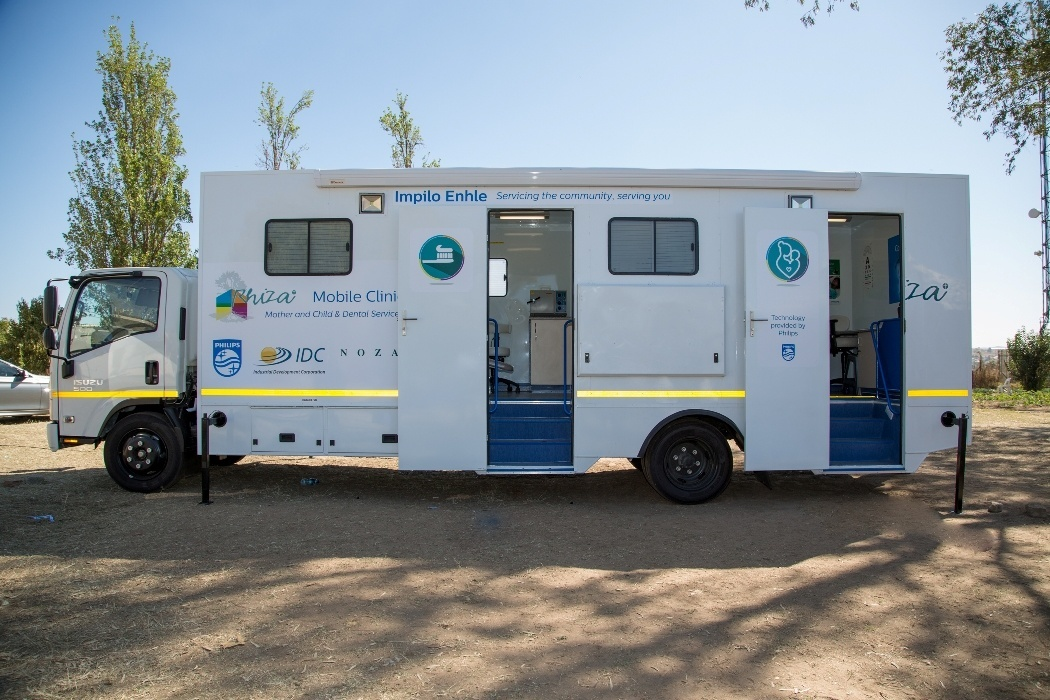 Philips, Rhiza Foundation Pilots Mobile Health Clinic in South Africa
