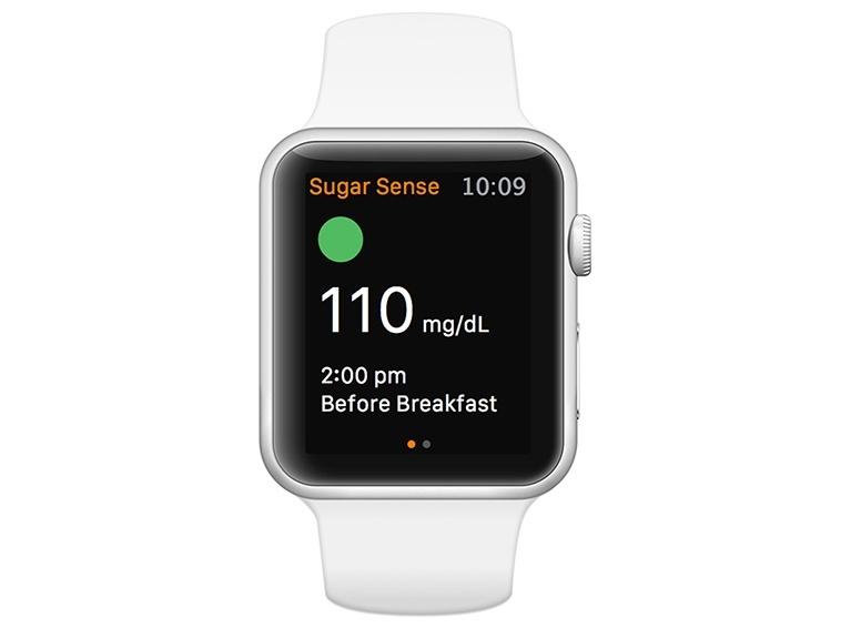 MedHelp Sugar Sense Apple Watch App