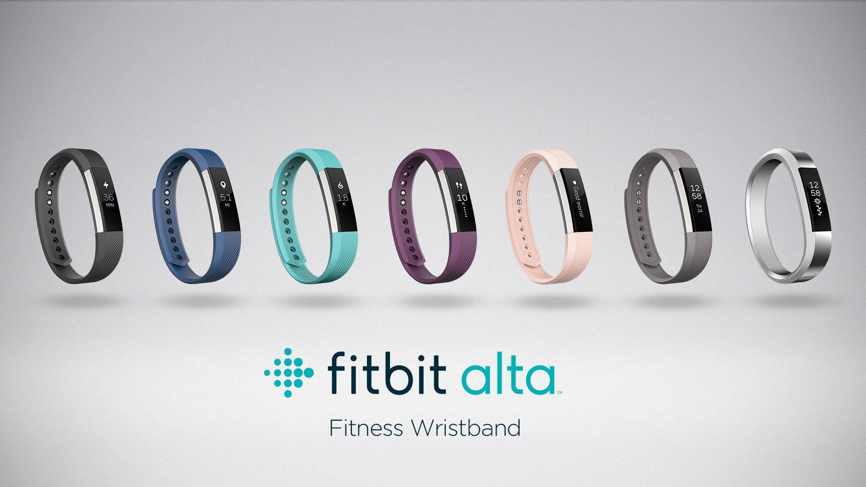 Fitbit Unveils Fitness Wristband, Fitbit Alta