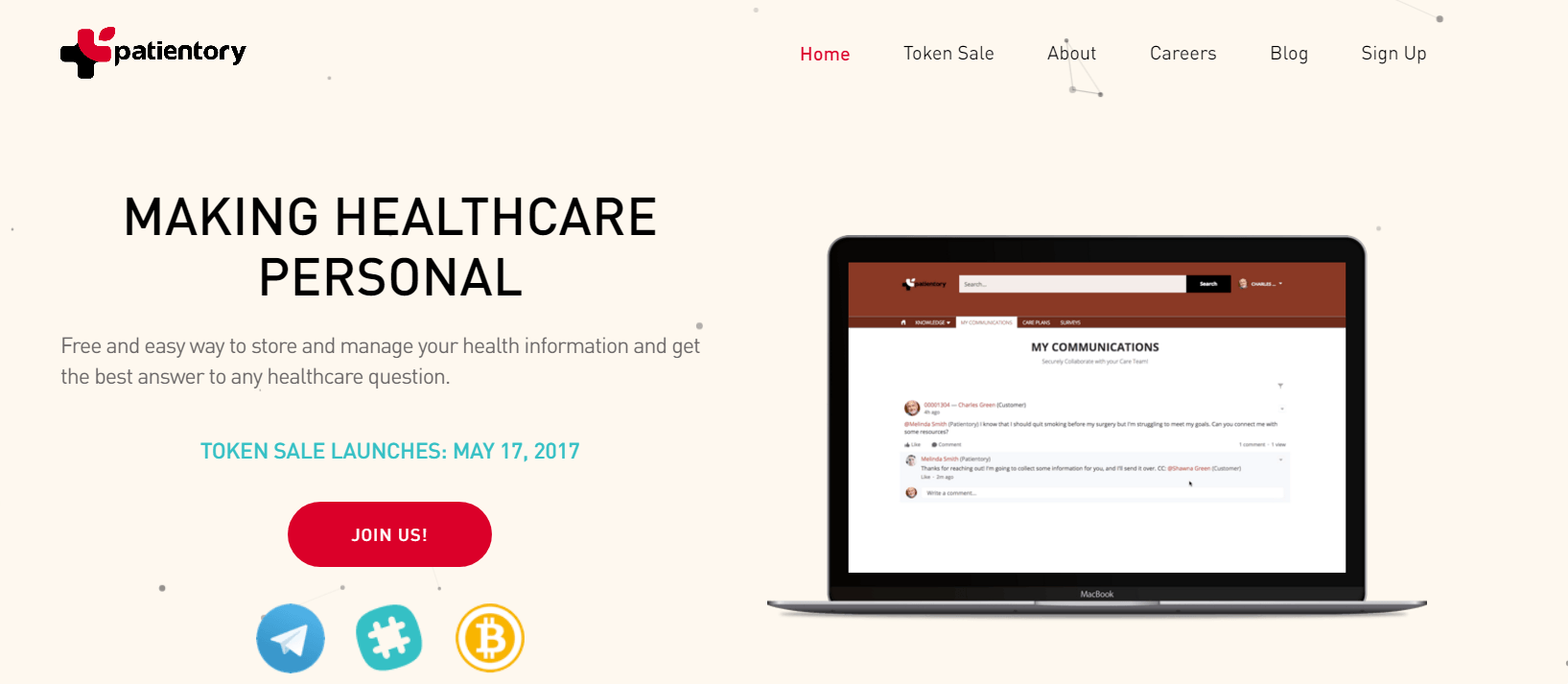 Patientory Launches Healthcare's First Crypto-Token