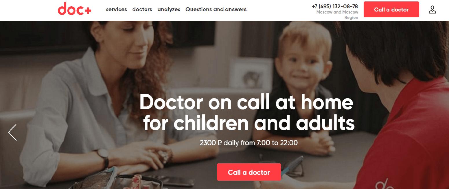 Russian Digital Health Startup DOC+ Lands $5M for On-Demand Doctor Visits