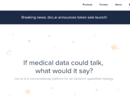 doc.ai Launches First Blockchain-Enabled NLP for Quantified Biology