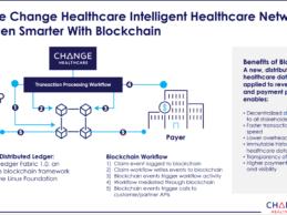 Change Healthcare Unveils Enterprise Blockchain for Healthcare to Boost Revenue Cycle Efficiency