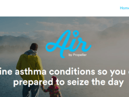 Propeller Health Unveils API to Provide Local Asthma Conditions