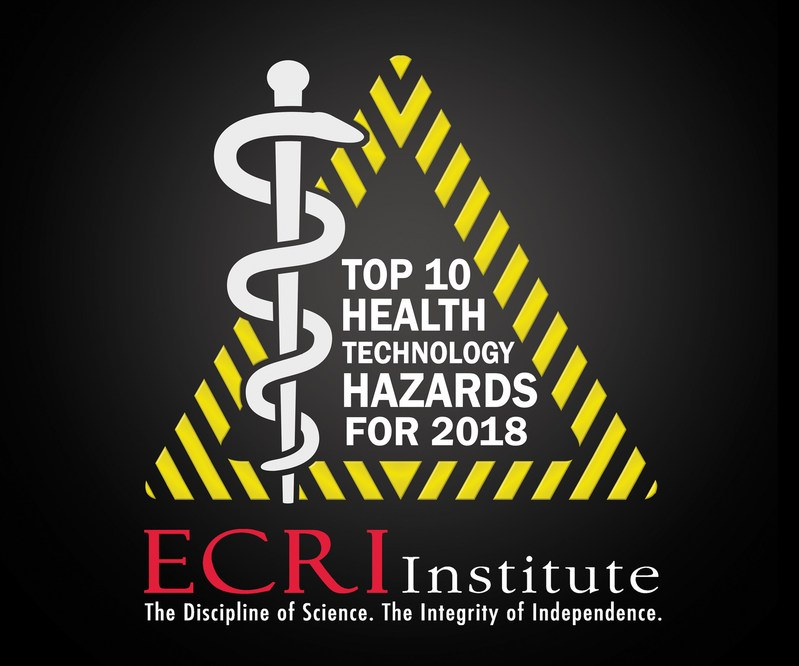 Ransomware Tops ECRI Institute's 2018 Top 10 Health Technology Hazards List