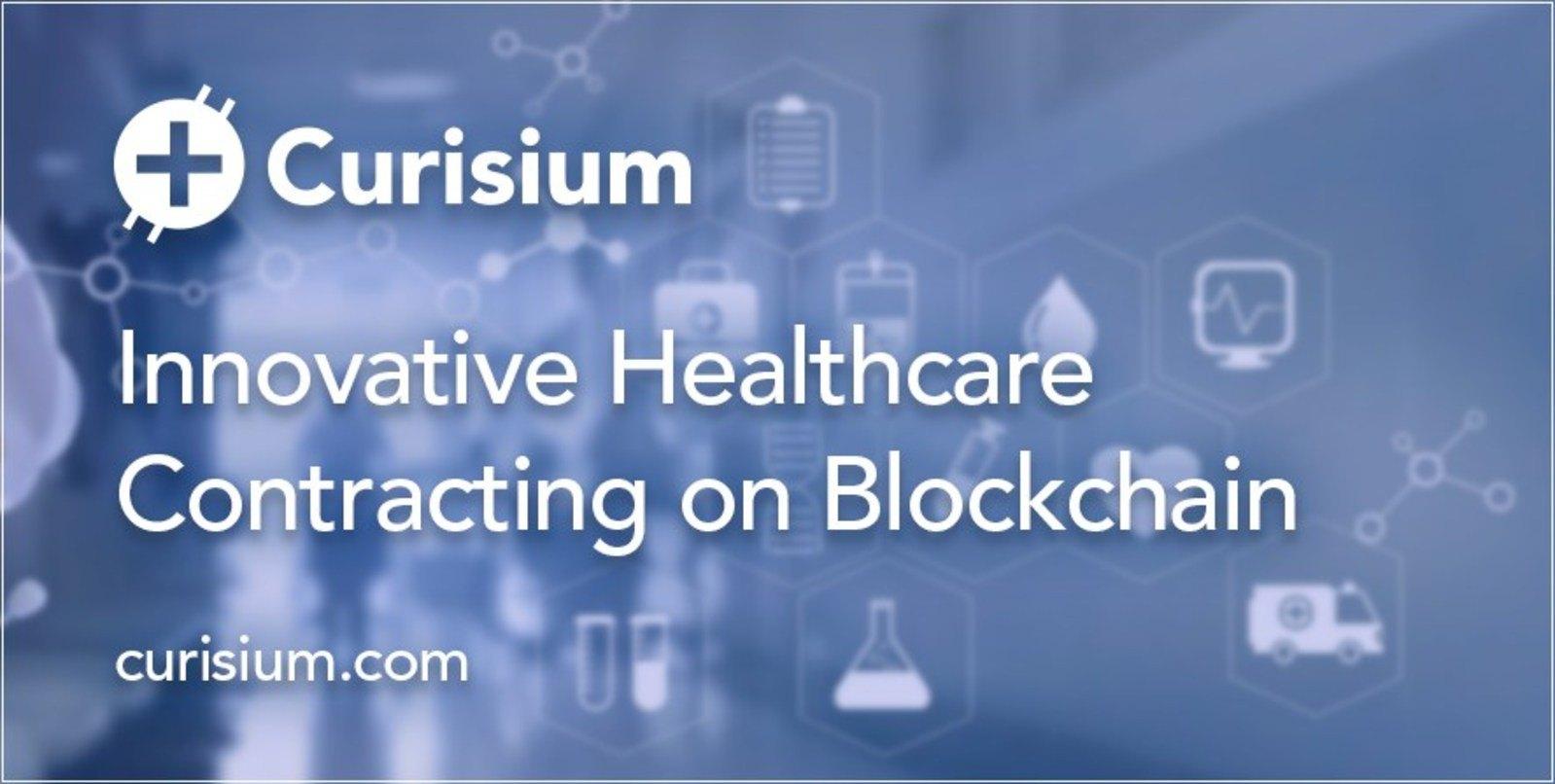 Healthcare Blockchain Startup Curisium