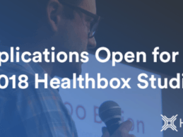 Healthbox Opens Applications for the 2018 Healthbox Studio