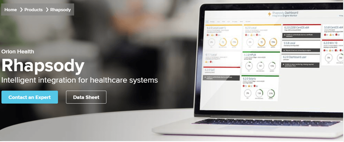 Orion Health Launches Rhapsody Integration Engine on Amazon Cloud