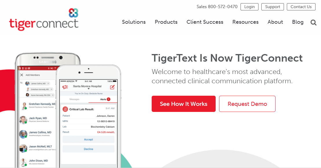 TigerText Rebrands as TigerConnect, Launches New AI Capabilities