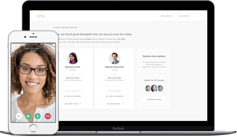 Lyra Health Raises $45M to Connect Employees to Effective Mental Health Providers