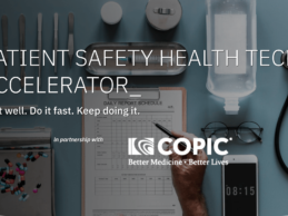 Boomtown, COPIC Launch Patient Safety HealthTech Startup Accelerator