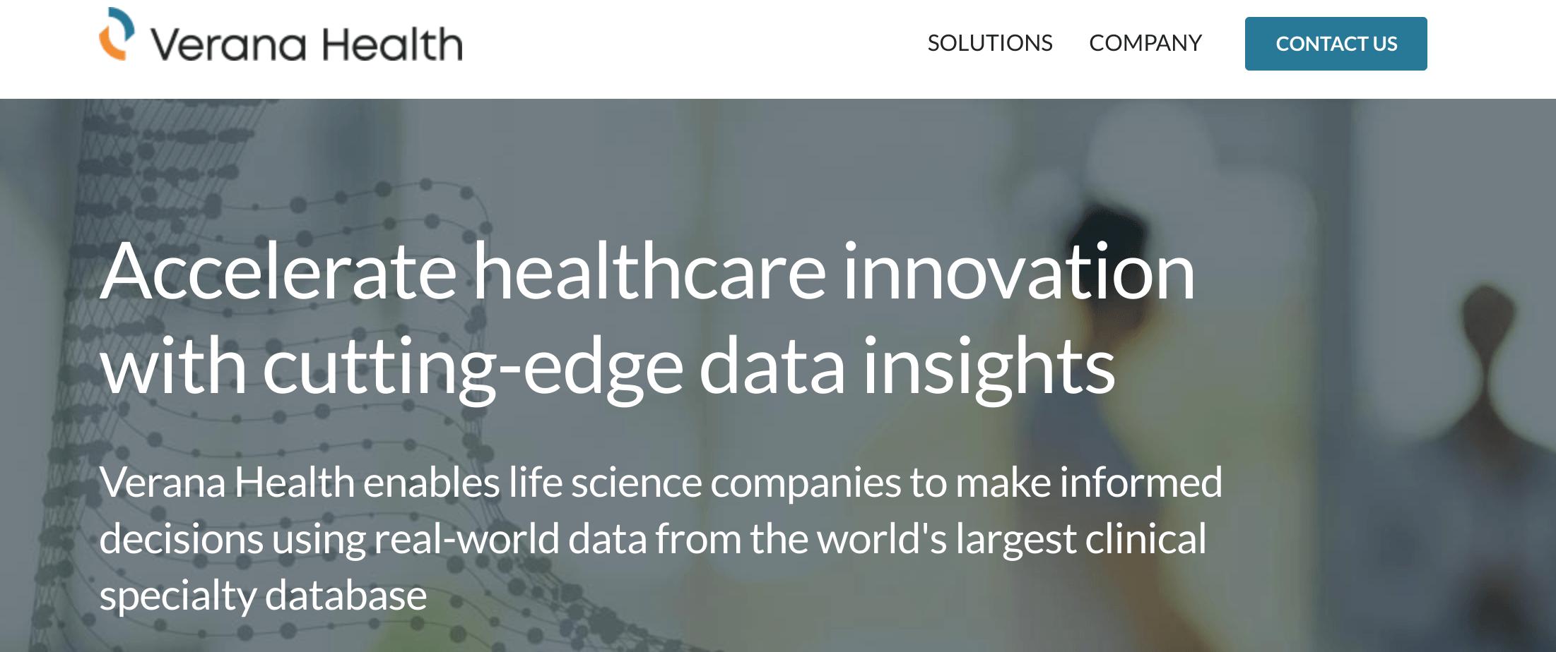 Verana Health Lands $30M for EHR Integrated Data Platform for Life Sciences