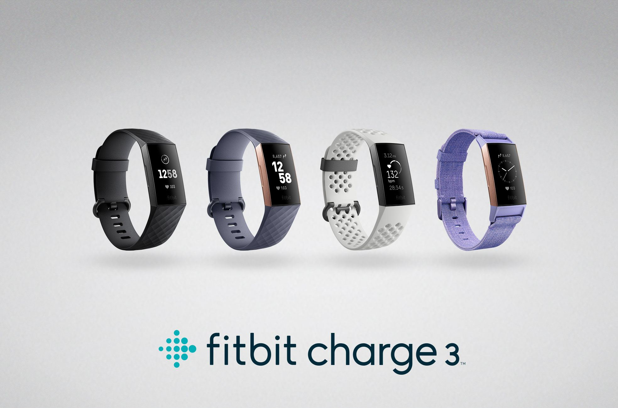Fitbit Unveils Charge 3 with Relative SpO2 Sensor, Launches