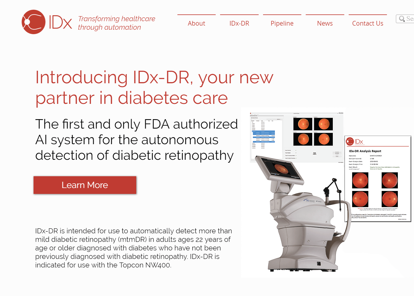 IDx and Topcon Join Forces to Scale AI-based Diagnostic Platform in the U.S. Market