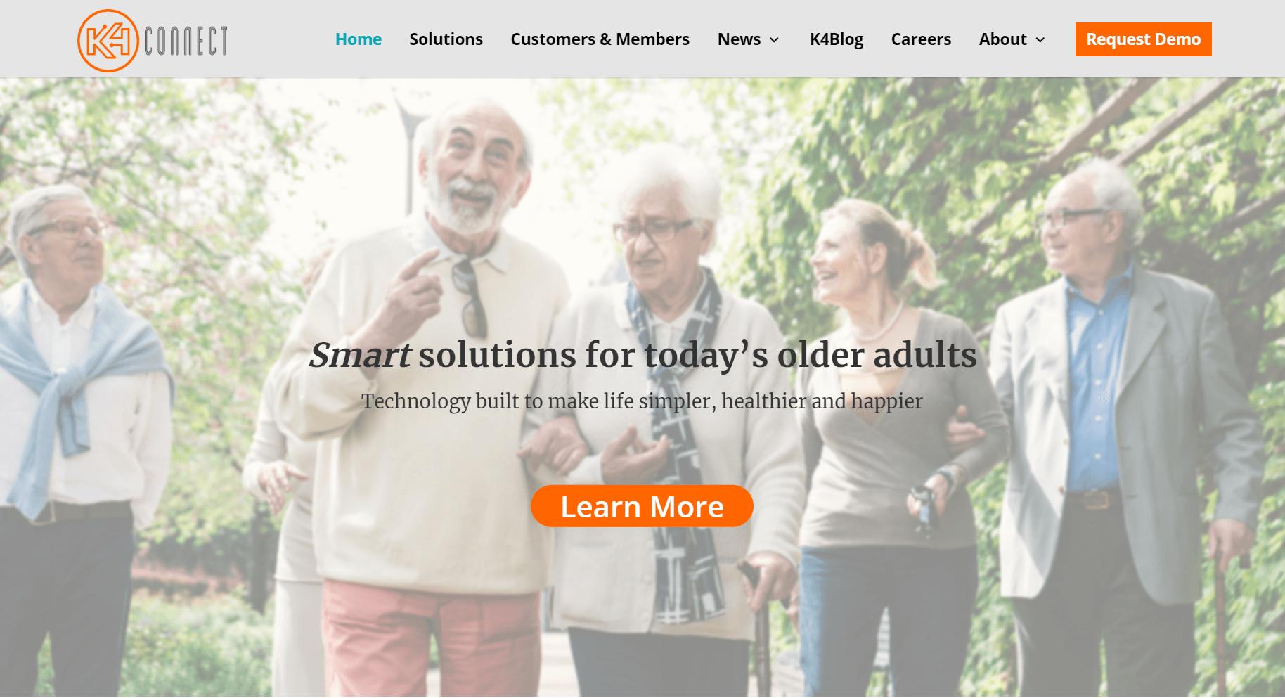 K4Connect Raises $12M to Expand Smart Tech for Senior Living Communities