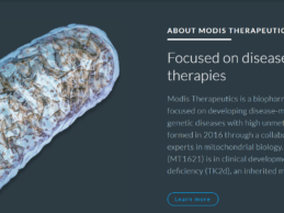 Modis Therapeutics Raises $30M for Developing Medicines for Patients with Rare Genetic Diseases