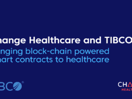 Change Healthcare, TIBCO Collab to Bring Blockchain-Powered Smart Contracts to Healthcare