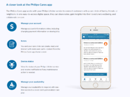 Philips Cares App Launches to digitize the aging and caregiving experience