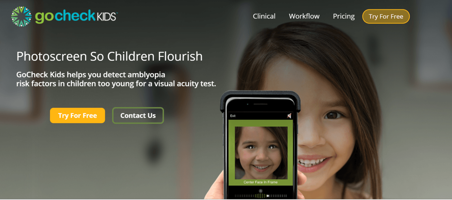 GoCheck Kids Nabs $6M for iPhone App to Detect Amblyopia in Pre-Verbal Children