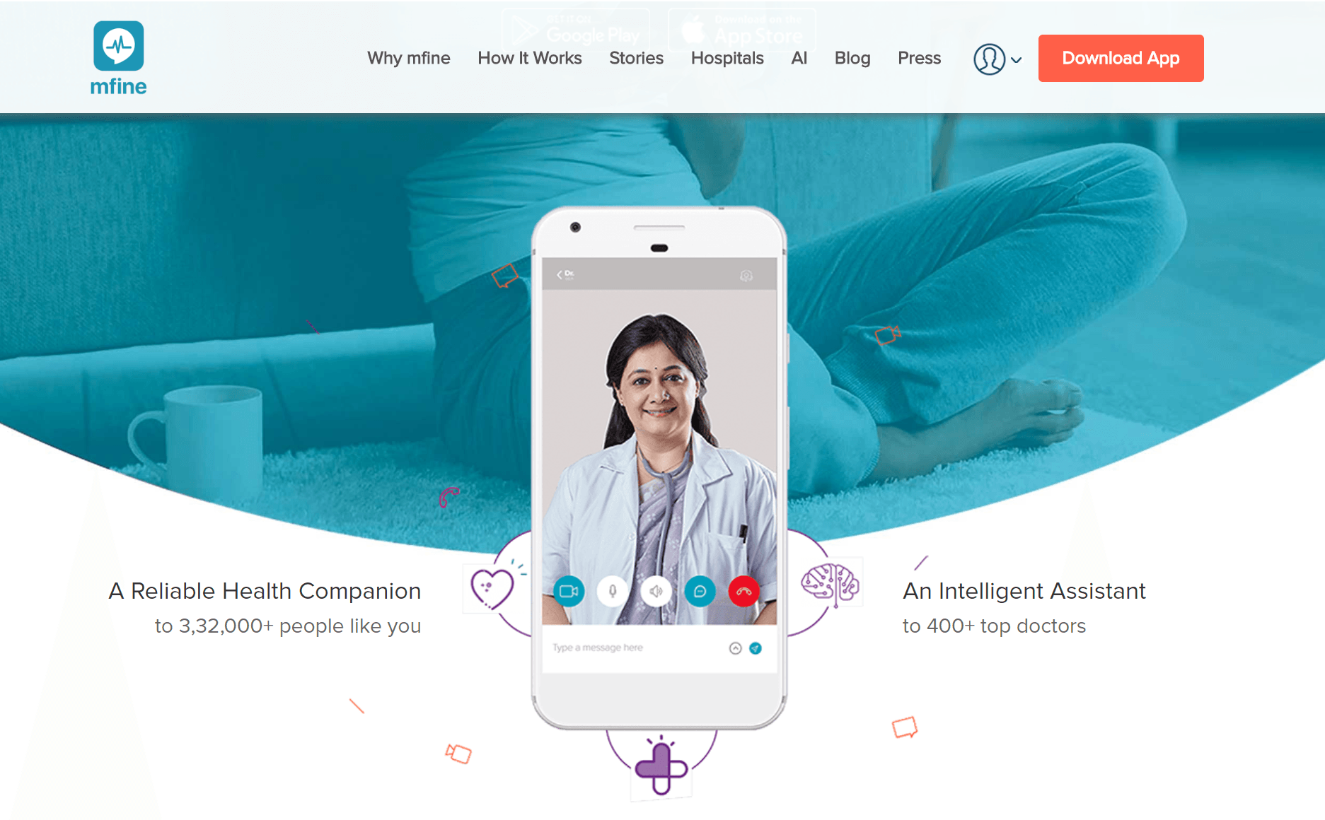 Health-tech AI Startup mfine
