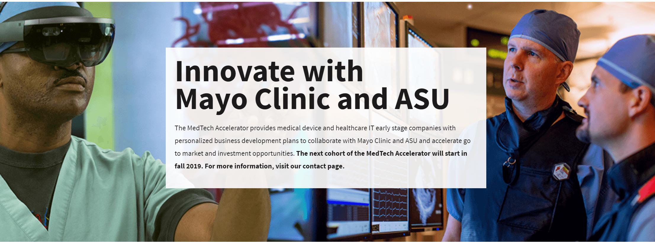 Mayo Clinic, ASU Unveils Six Digital Health Startups for