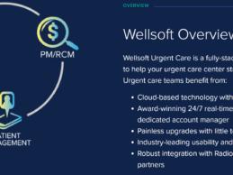 Medsphere Launches Wellsoft Urgent Care EHR, PM/RCM Solution