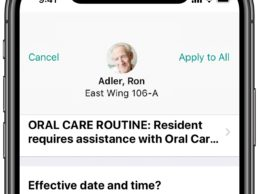 PointClickCare Launches iOS Mobile App for Senior Living