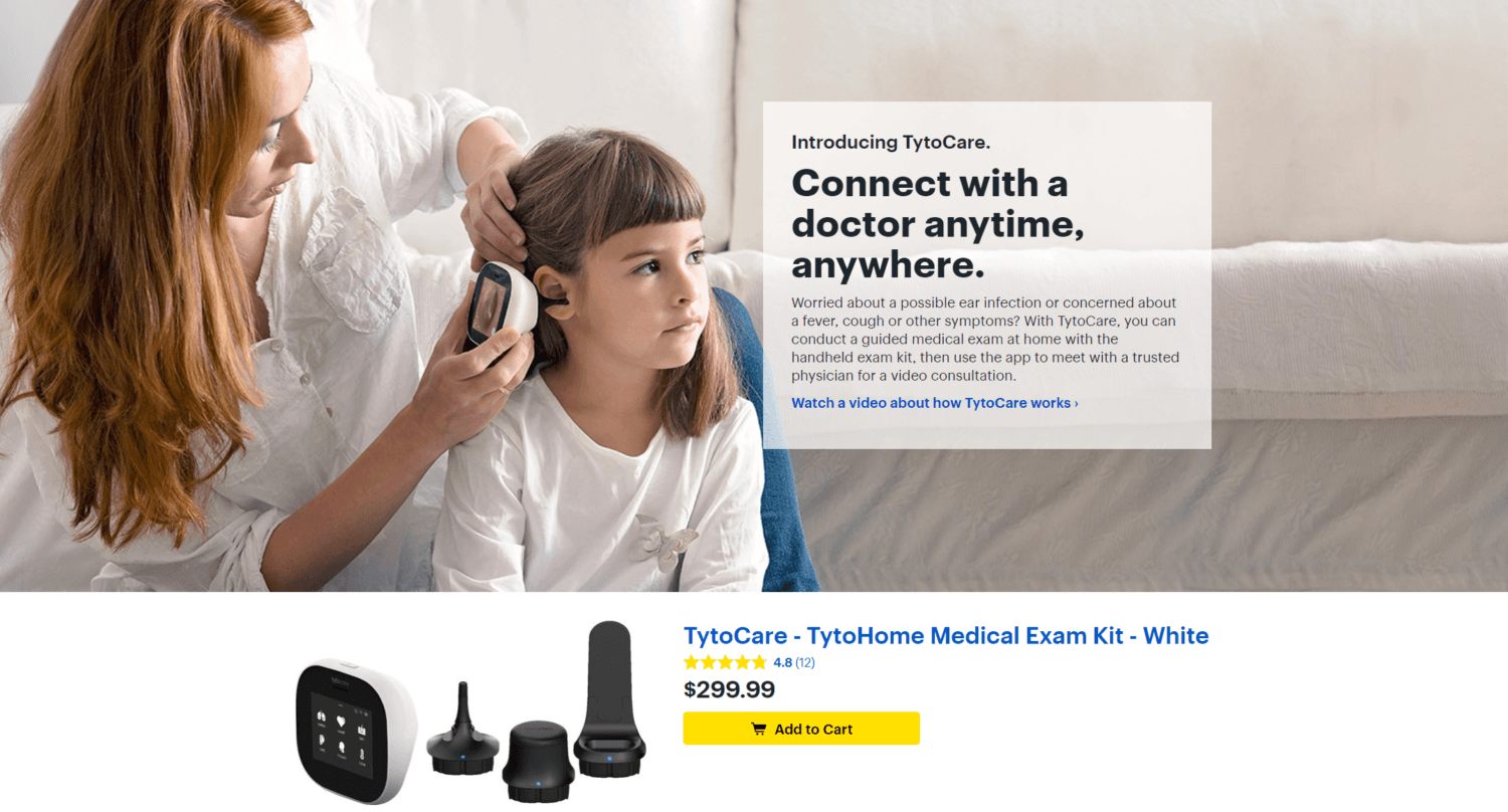 Tyto Care partners with Best Buy to launch TytoHome