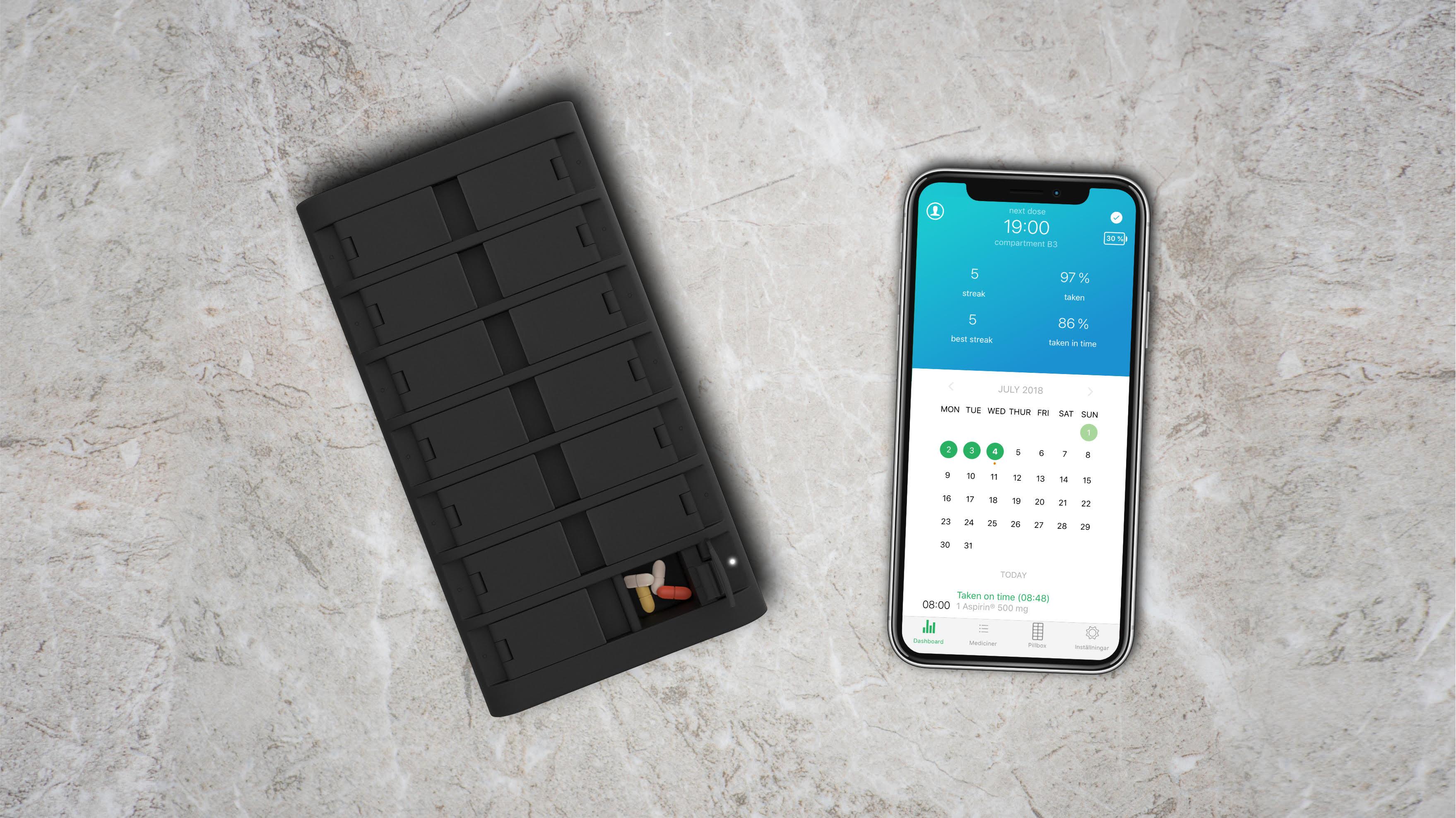 Sandoz to Use Pilloxa's Smart Pillbox to Improve Transplant Patient Medication Compliance