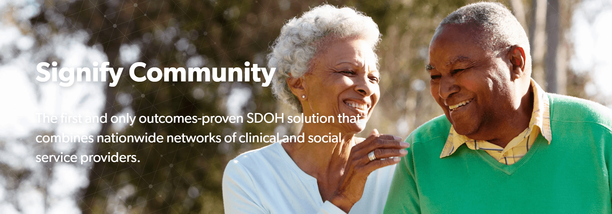 Signify Health Launches Social Determinants of Health Solution Signify Community