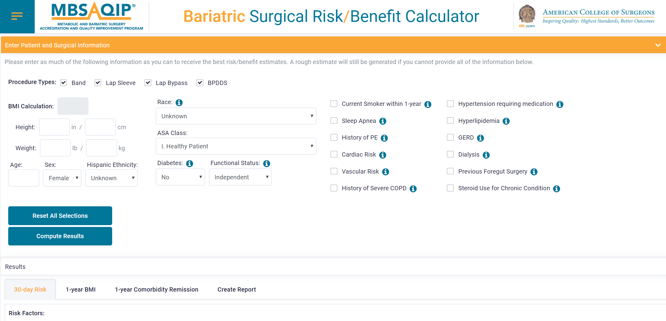 New Bariatric Surgical Risk Calculator Can Predict Patient's