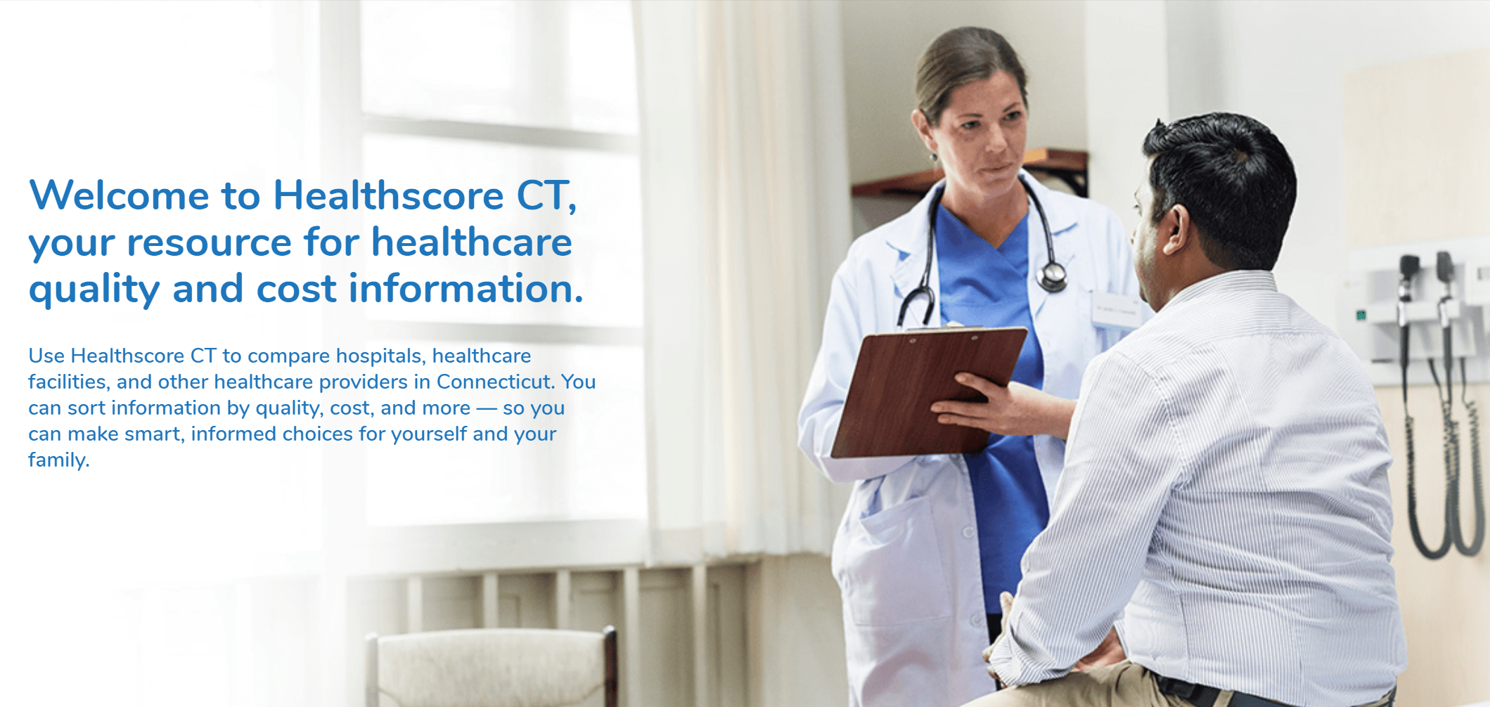 Connecticut Launches State-Wide Hospital Quality Scorecard & Cost Estimator