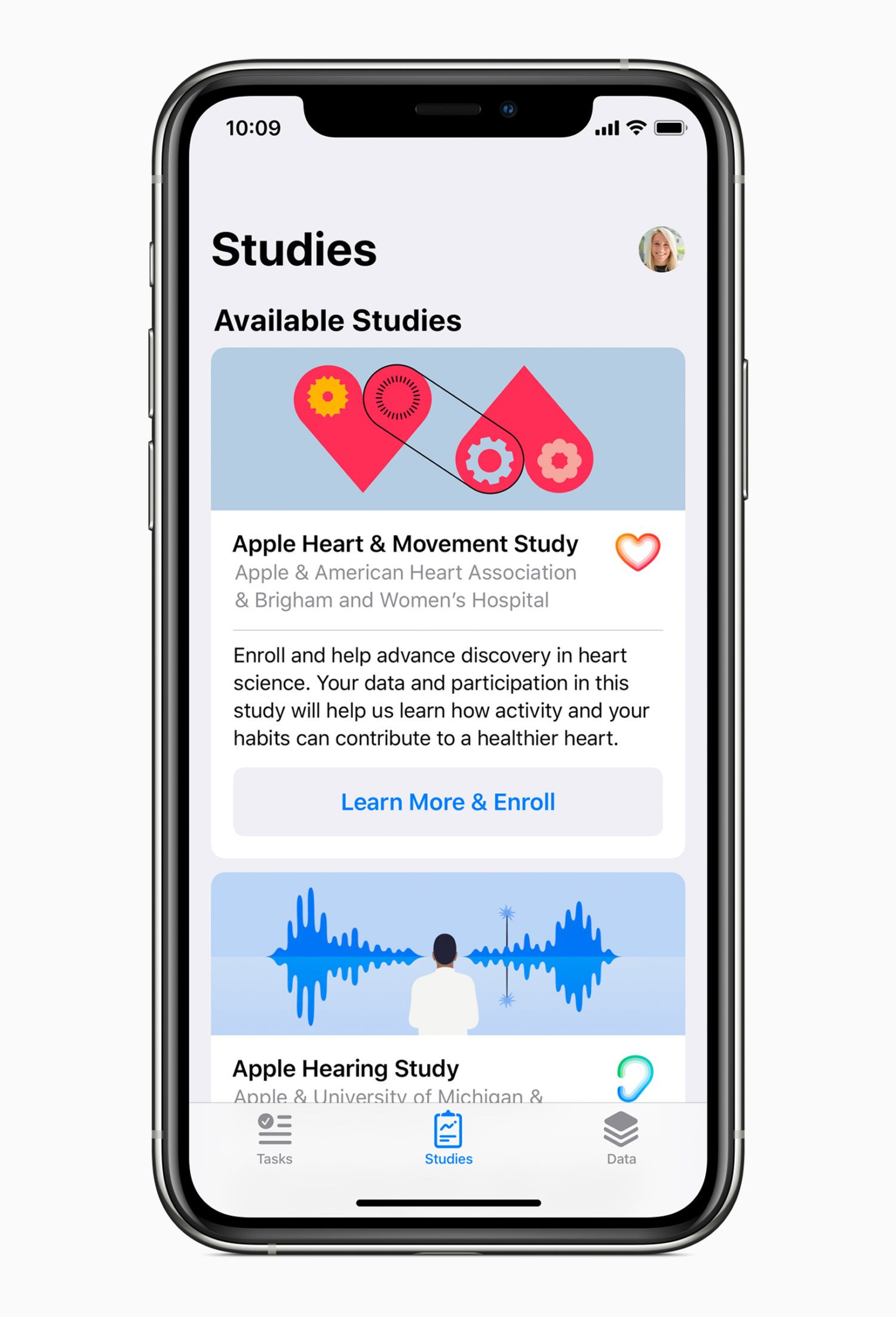 Apple Unveils 3 New Medical Studies to Launch on Research App This Fall