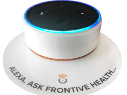 Powered by Amazon Echo, Frontive Launches Smart Personal Health Platform