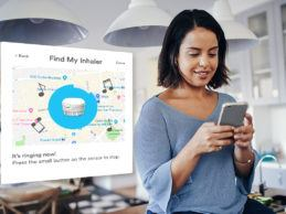 """Propeller Users Can Now """"Ring"""" The Sensor From App to Find Their Lost Inhaler"""