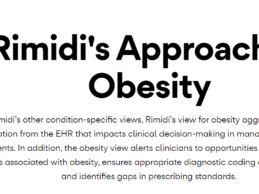 Rimidi Adds Obesity View to EHR-Integrated Platform for Clinicians