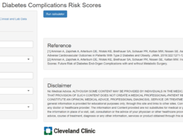 Cleveland Clinic Develops Personalized, 10-Year Diabetes Complication Risk Score Calculator