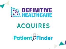 Definitive Healthcare Analytics Firm PatientFinder to Expand Data Insights