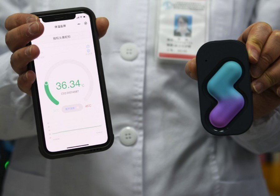 Shanghai Public Health Clinical Center Uses Wearable Sensors to Combat Spread of Coronavirus in China