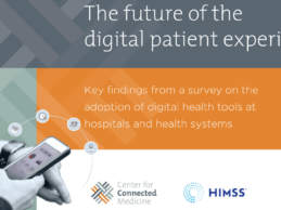 Report: The future of the Digital Patient Experience