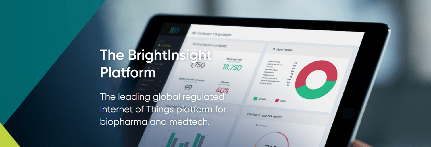 AstraZeneca Selects BrightInsight's IoT Platform to Focus on Chronic Disease Management